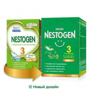 Смесь Nestle Nestogen 3 Premium молочная 600г