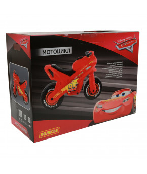 Мотоцикл-каталка Полесье Disney/Pixar Тачки (в коробке)