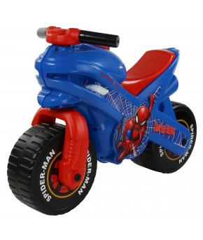 Мотоцикл-каталка Полесье Marvel Человек-паук (в коробке)