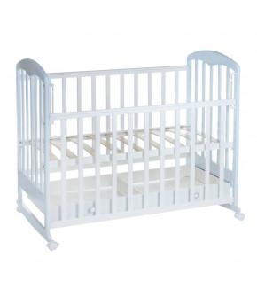 Кровать детская Фея 325, белый/мята