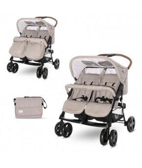 Детская коляска для двойни Lorelli Twin String 2021