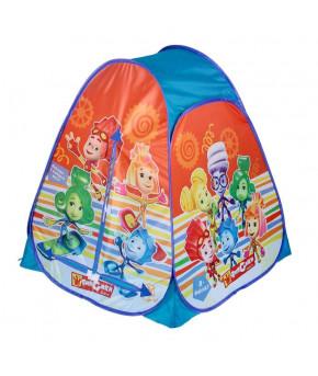 Палатка игровая Фиксики  81х91х81см (в сумке)