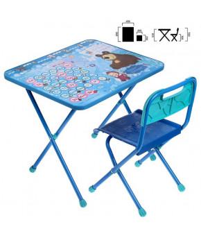 Мебельный комплект Nika Kids Азбука 4 Маша и медведь