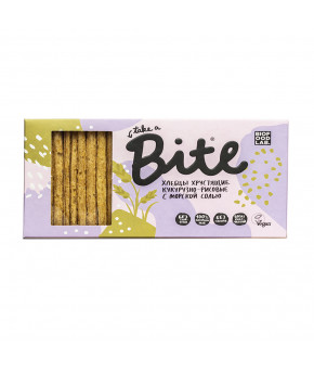 """Хлебцы """"Bite"""" кукурузно-рисовые с морской солью, 150гр"""
