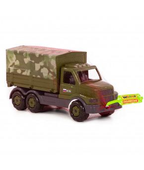 Автомобиль бортовой Полесье Сталкер тентовый военный