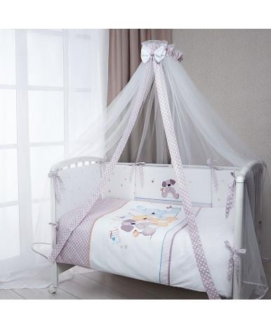Комплект в кроватку Perina Венеция три друга 7пр