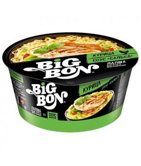 Лапша Big Bon Курица+соус сальса 85г