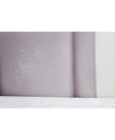 Комплект в кроватку Perina Амели кружево белый 6пр