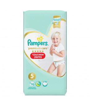 Подгузники-трусики Pampers Premium Care 5 (12-17 кг) 52шт