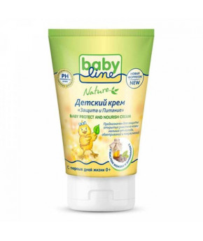 "Крем ""BabyLine"" Nature защита и питание, 125мл"