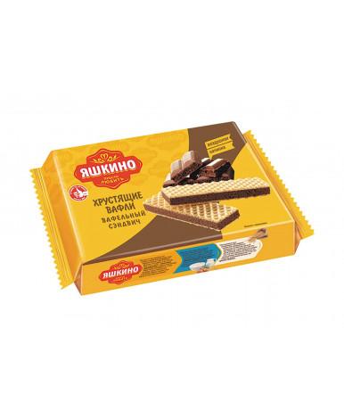 Вафли Яшкино Шоколайт 180г