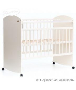 """Кровать детская """"Bambini"""" Elegance 06, слоновая кость"""