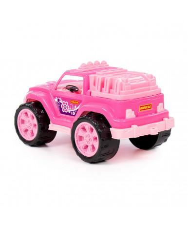 Автомобиль Полесье Легион №4 розовый