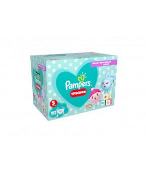 Подгузники-трусики Pampers Pants Малышарики 5 (12-17кг) 152шт (2 части, цена за 76шт)