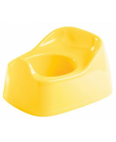 """Горшок """"Пластишка"""" 270x220x150 мм желтый"""