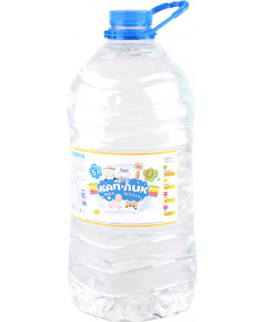 """Вода """"Кап-лик"""" питьевая, 5л"""