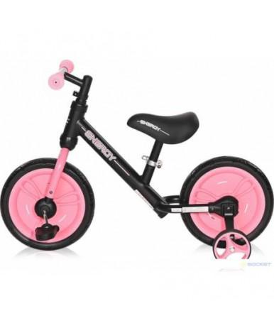 Велосипед-беговел Lorelli Energy 2 в1 Black Pink