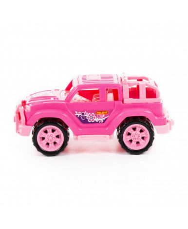 Автомобиль Полесье Легионер мини розовый