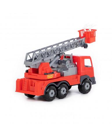 Автомобиль пожарная Полесье Престиж (в сеточке)