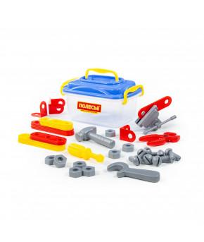 Набор инструментов Полесье Механик 41 элемент в контейнере