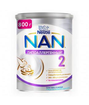Смесь Nestle NAN 2 гипоаллергенный 800г