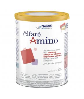 Смесь Nestle Alfare Amino на основе аминокислот 400г