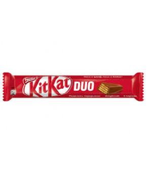 Батончик глазированный KitKat Duo молочный 58г