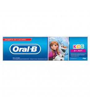 Зубная паста Oral-B Frozen Cars Kids Легкий вкус 75мл