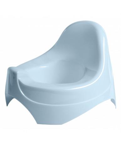 Горшок Пластишка 280х270х210 мм светло-голубой