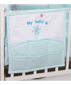 Карман для кроватки Fairy Белые кудряшки