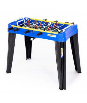 Настольная игра мини-футбол Полесье Champions №3 синий (в коробке)