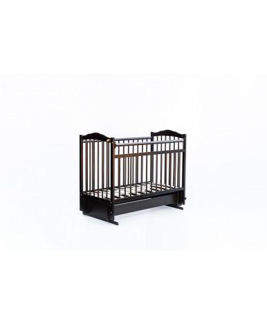 Кровать детская Bambini Classic 11, темный орех