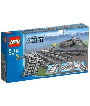 Конструктор Lego City Железнодорожные стрелки
