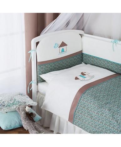 Комплект в кроватку Perina Жила-была Лошадка 6пр