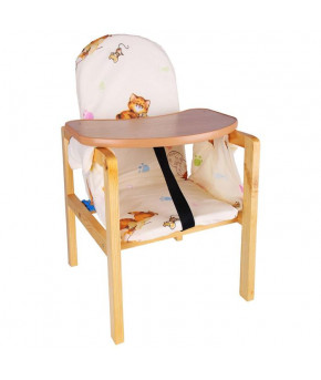 Стол-стул трансформер Алекс бежевый