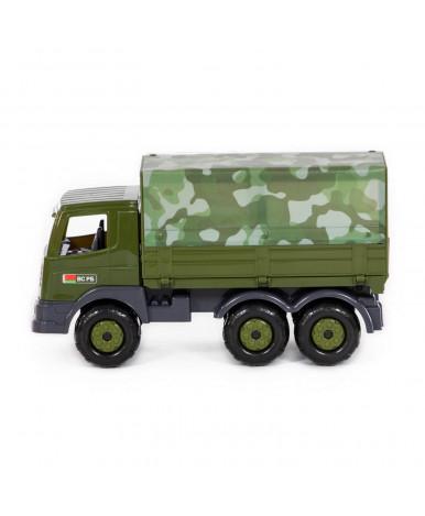 Автомобиль Полесье Престиж военный бортовой тентовый РБ