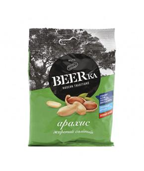 Арахис BEERKa жареный соленый 30г