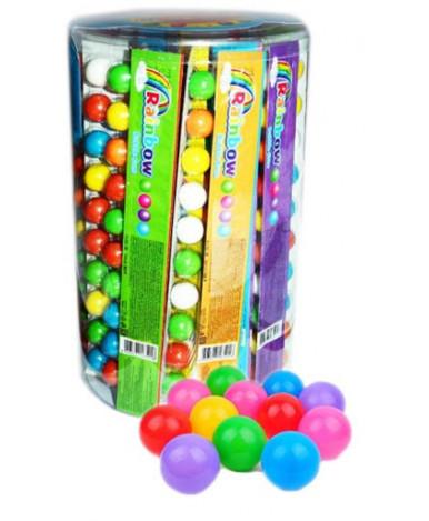 Жевательная резинка Rainbow с фруктовым ароматом 28г
