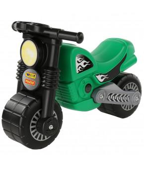 Мотоцикл-каталка Полесье Моторбайк зелёный
