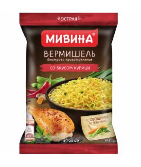Вермишель Мивина Вкусная курица 60г