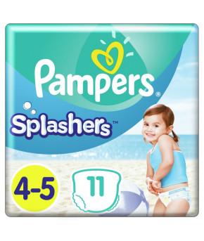 Подгузники-трусики Pampers Splashers для плавания 4-5 (9-15 кг) 11шт