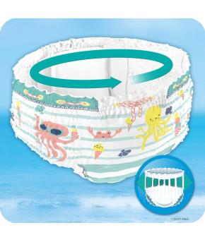 Подгузники-трусики Pampers Splashers для плавания, 4-5 (9-15 кг) 11шт