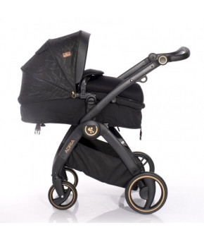 Модульная коляска 2 в 1 Lorelli Adria Black