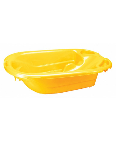 Ванна Пластишка универсальная желтая 925х530х255мм