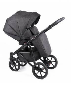 Модульная коляска 2 в 1 Coletto Astin AS-01 black