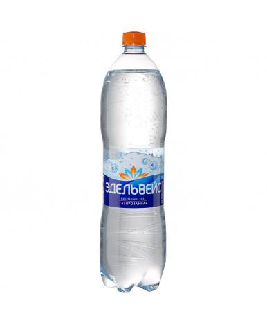 Вода Эдельвейс минеральная лечебно-столовая газированная 1,5л