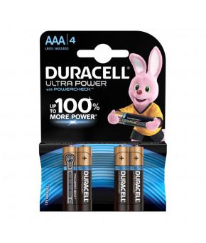 Батарейки Duracell Turbo, Max AAA-1.5V LR03 (4шт)