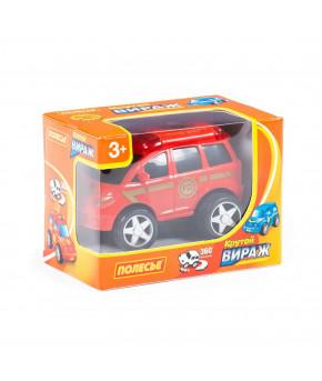 Автомобиль-пожарная инерционный Полесье Крутой Вираж (в коробке)