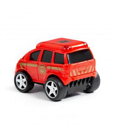 Автомобиль инерционный пожарная Полесье Крутой Вираж