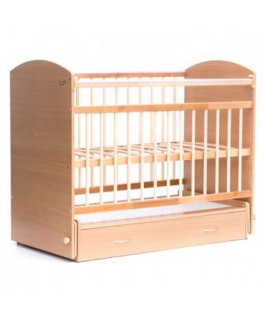 Кровать детская Bambini Elegance 07, натуральный